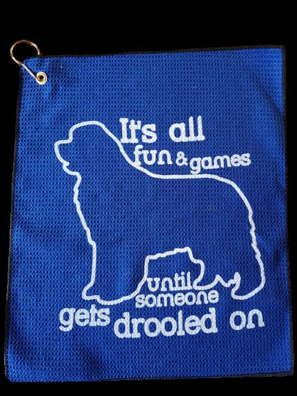 Fun & Games drool towel