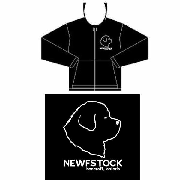 NewfStock Hoody (black)