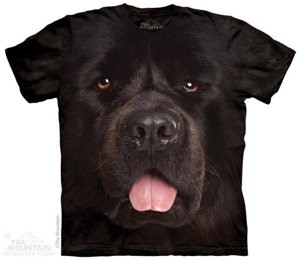 Black Dog Face tee