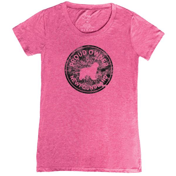 Proud Owner Women's Tee (pink)