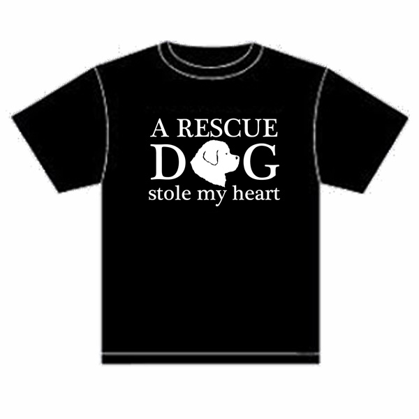 Rescue Dog Stole My Heart tee
