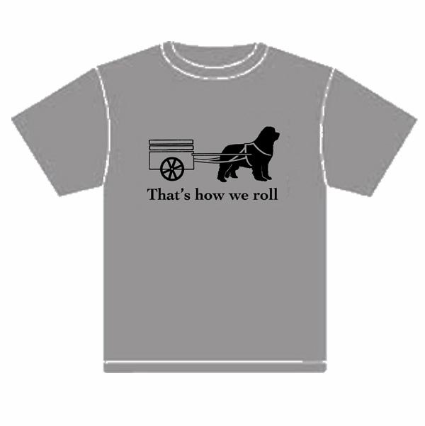 How We Roll tee (grey)